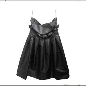 Fendi black evening dress
